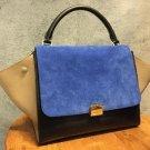 Celine Trapeze Luggage Tricolor 2way bag