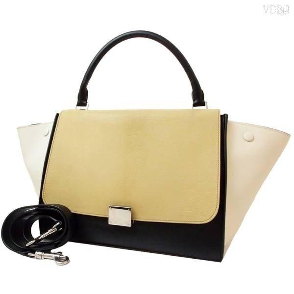Celine trapeze leather 2WAY shoulder handbag
