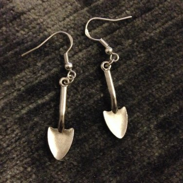 Shovel Earrings