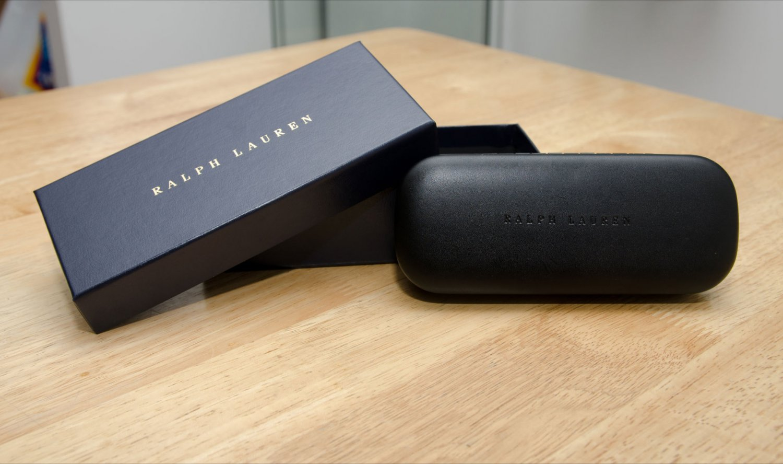 Ralph Lauren eyeglasses sunglasses case in box think