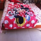 Cute NEW disney minnie mouse fleece blanket