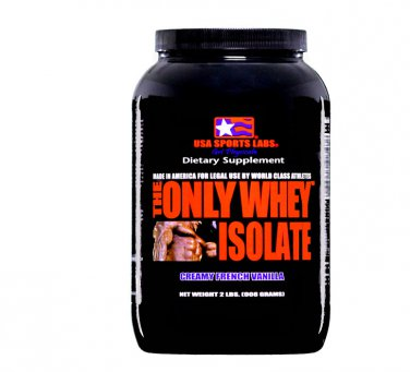 THE ONLY WHEY ISOLATE (90%) 2 lb Vanilla Flavor