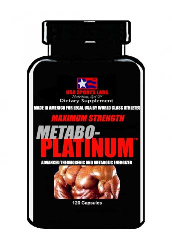 MAXIMUM STRENGTH METABO� PLATINUM 120 Capsules
