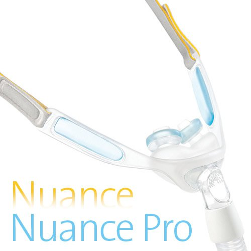 Nuance Pro Nasal Pillow CPAP Mask With Headgear