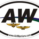 "4x6"" AirWarriors Sticker"