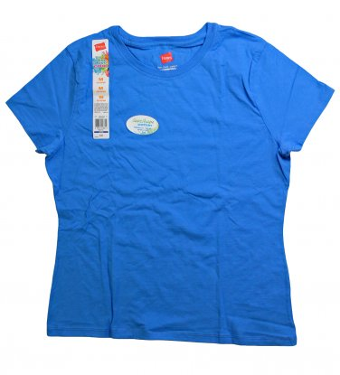 Womens Crew Neck Tee Bluejay Large