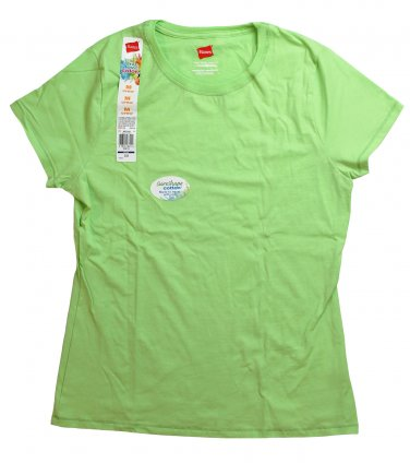 Womens Crew Neck Tee Clean Green Large
