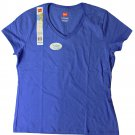 Womens V-Neck Tees - Bluefin Med