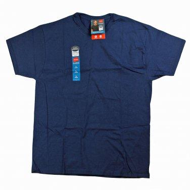 Mens T-Shirt- Navy Blue Large