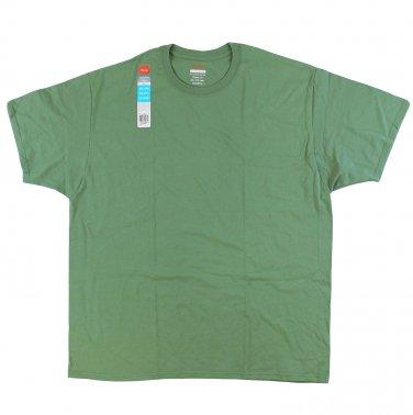 Big Men's Martini Green Jersey T-Shirt XXXLarge