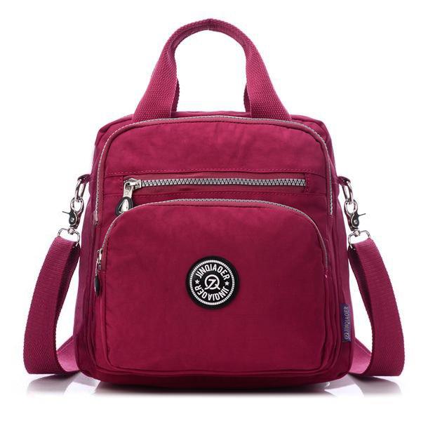 Multifunction Waterproof Handbags Crossbody Backpack