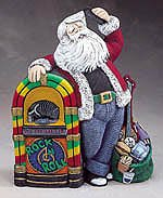 Jukebox Santa Music Box