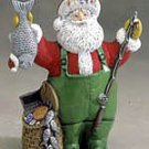 Fisherman Santa Music Box