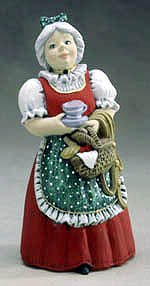 Mrs. Claus Music Box