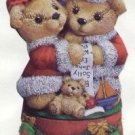 Mr. and Mrs. Santa Bears Music Box