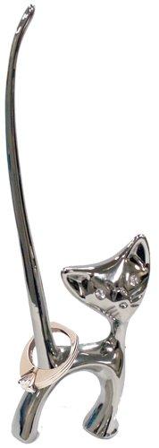 Stainless Steel Cat Ring Holder