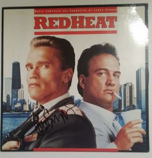 Arnold Schwarzenegger signed Soundtrack