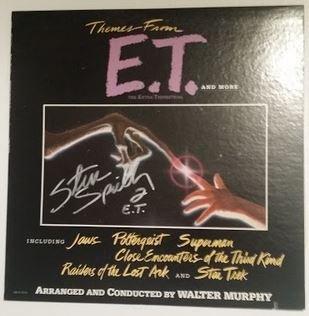 Steven Spielberg signed Soundtrack