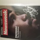Manny Pacquiao signed Magazine