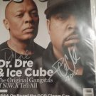 Dr. Dre / Ice Cube Signed Magazine
