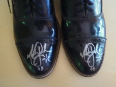 Michael Jackson Signed Shoes