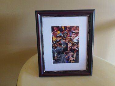 LeBron James framed autograph 2