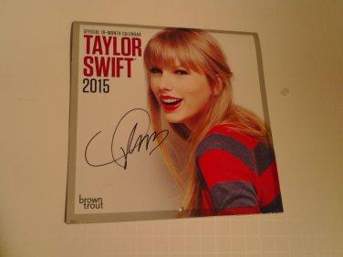 Taylor Swift signed Calendar