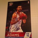 Steven Adams signed pamphlet