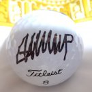 Donald Trump autographed Golf Ball