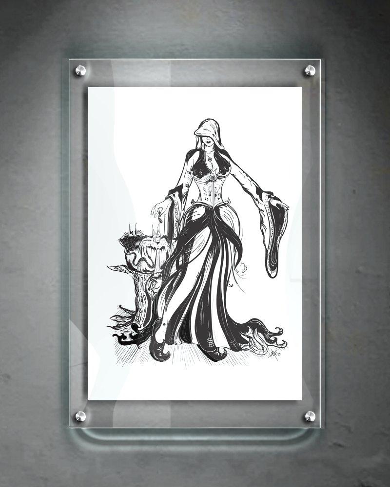 The Mystic (13 x 9 Print)