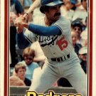 1981 Donruss 416 Dave Lopes