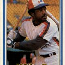 1981 Donruss 576 Ron LeFlore