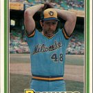 1981 Donruss 86 Mike Caldwell