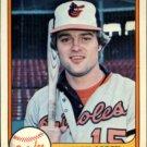 1981 Fleer 193 Mark Corey