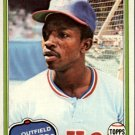 1981 Topps 145 Mickey Rivers