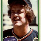 1981 Topps 286 Dave Frost