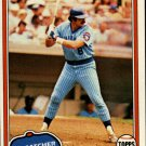 1981 Topps 492 Barry Foote