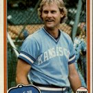 1981 Topps 507 Jamie Quirk