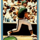 1981 Topps 587 Jeff Newman