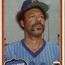 1981 Topps 17 Cliff Johnson
