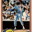 1981 Topps 25 Sixto Lezcano