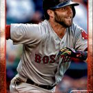 2015 Red Sox Topps BRS5 Dustin Pedroia