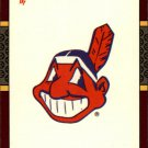 1987 Donruss Opening Day 259 Indians Logo