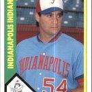 1990 Indianapolis Indians CMC 11 Jim Davins