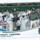 2013 Topps 179 Detroit Tigers
