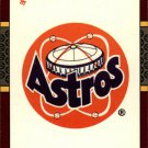 1987 Donruss Opening Day 250 Astros Logo