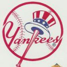 2001 Topps Opening Day Stickers 20 New York Yankees