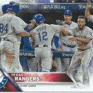 2016 Topps 552 Texas Rangers