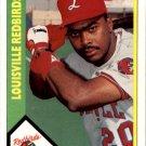 1990 Louisville Red Birds CMC 9 Bernard Gilkey