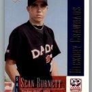 2001 Upper Deck Minors Centennial 92 Sean Burnett